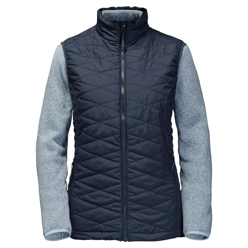 Jack Wolfskin Caribou Glen women 3in1 Weste und Jacke night blue UVP* 169,99