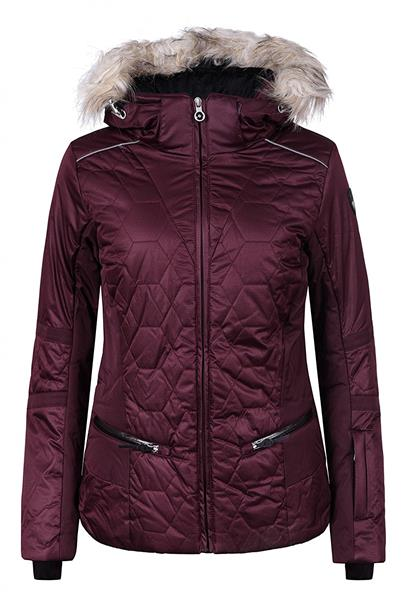 Icepeak Carol Kunstpelzkragen Skijacke Damen khaki *UVP 159