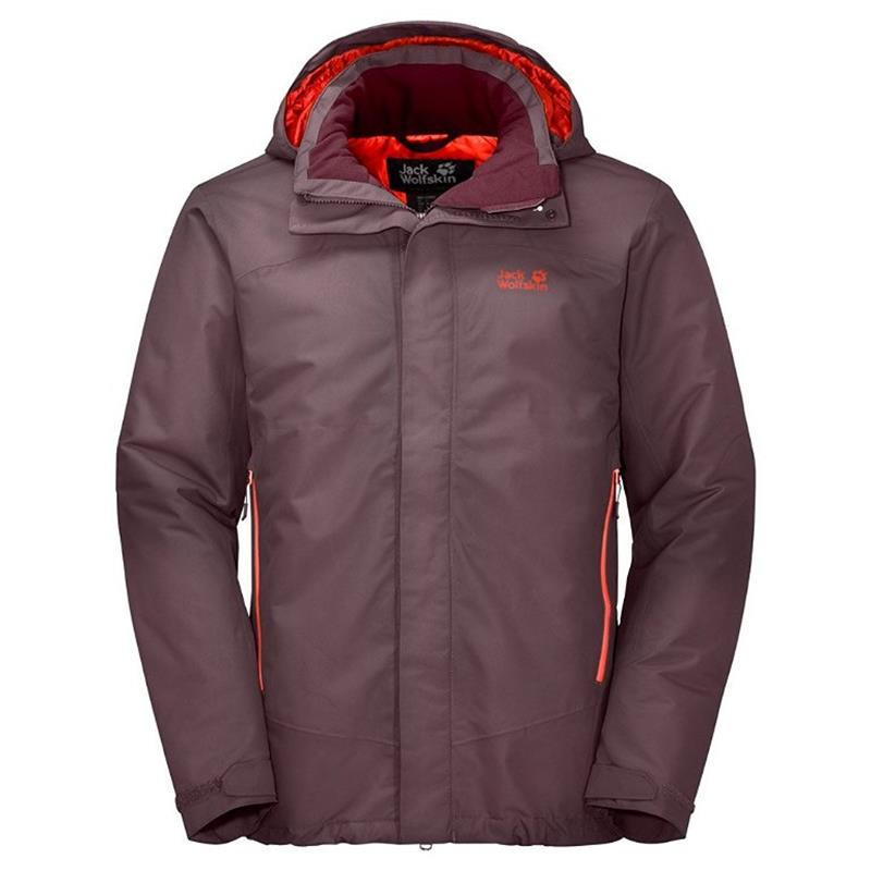 Jack Wolfskin Northern Edge Men Outdoorjacke mahogany *UVP 179,99