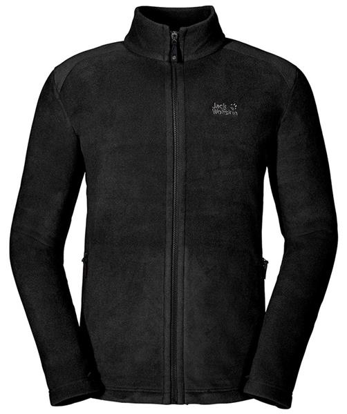 Jack Wolfskin Midnight Moon Herren Fleecejacke black *UVP 89,99