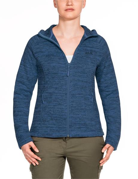 Jack Wolfskin Aquila Hooded Fleece Damen ocean wave 1705021 *UVP 119,99