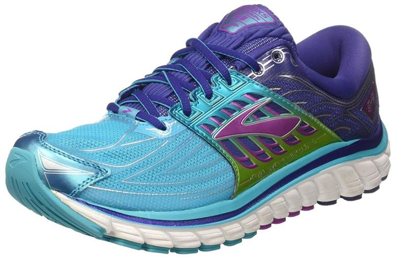 Brooks Glycerin 14 Laufschuh Damen Blue/Navy Blue/Purple Cactus *UVP 169,99