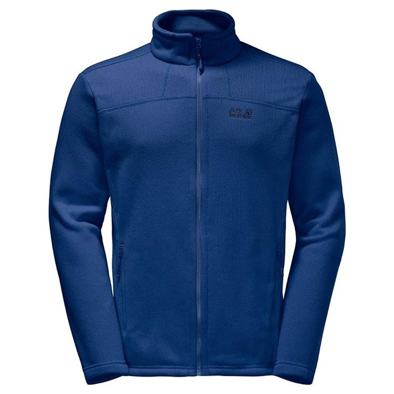Jack Wolfskin Castle Rock Jacket Fleecejacke Herren royal blue *UVP 99,99