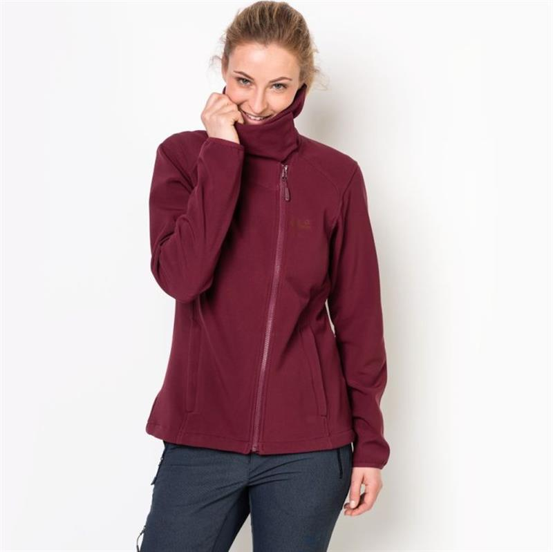 Jack Wolfskin Essentail Valley 1305181 Softshelljacke Damen red *UVP 99,99 XS