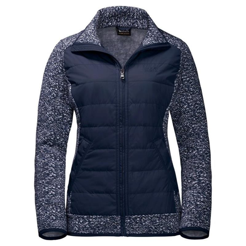 Jack Wolfskin Belleville Crossing Fleece Damen blue *UVP 139,99