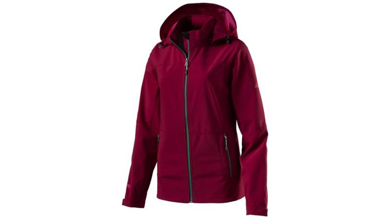 McKinley Everest Softshelljacke Damen Red Wine *UVP 79,99