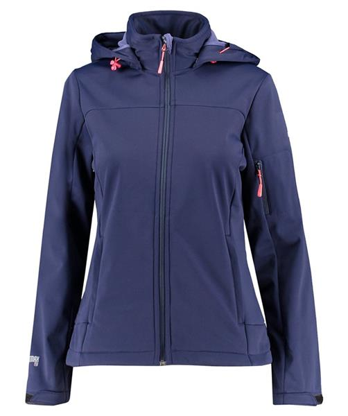 McKINLEY Fairbanks Damen Kapuzen Softshelljacke 4034508 navy *UVP 79,99