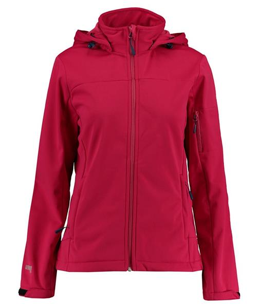 McKINLEY Fairbanks Damen Kapuzen Softshelljacke 4034508 wine *UVP 79,99