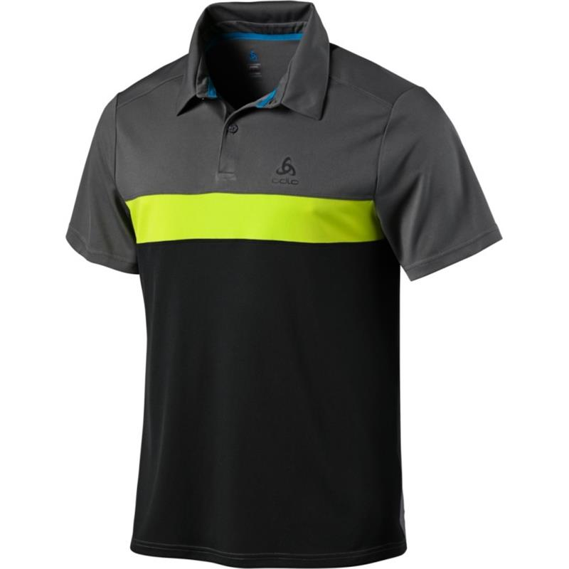 Odlo Polo Shirt s/s Nikko light 550232 Herren steel grey *UVP 49,99