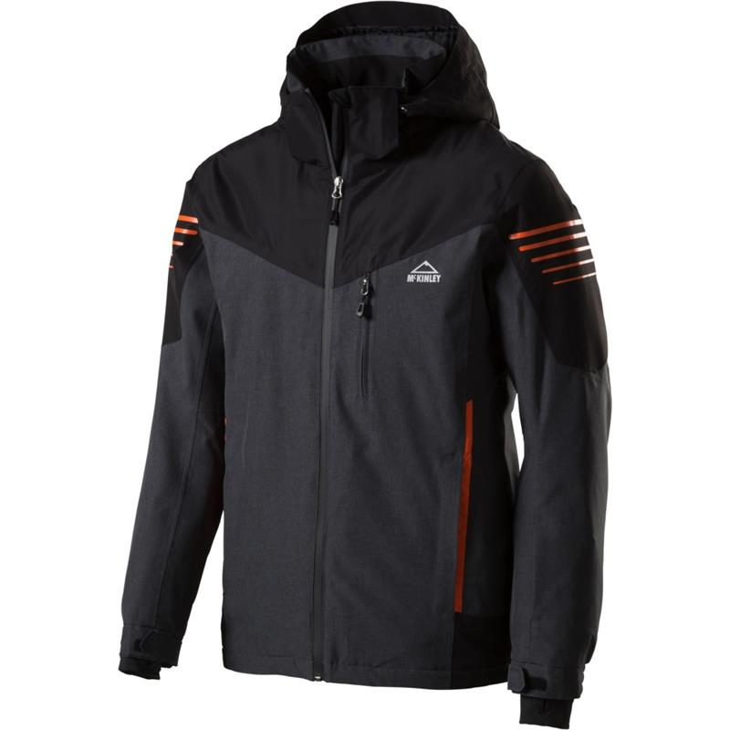 McKinley Scotty II Herren Skijacke AQUAMAXelite black/orange *UVP 129,99