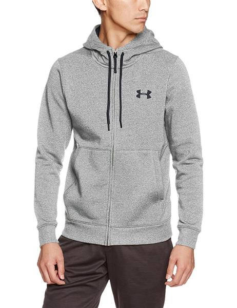 Under Armour Threadborne Fleecejacke Hoodie Herren gray *UVP 74,99