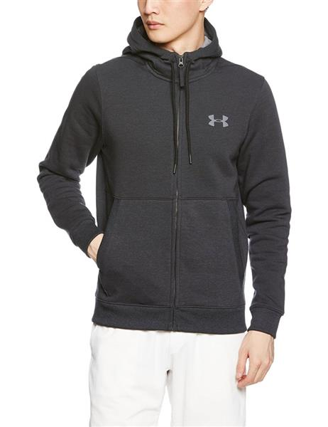 Under Armour Threadborne Fleecejacke Hoodie Herren anthracite *UVP 74,99