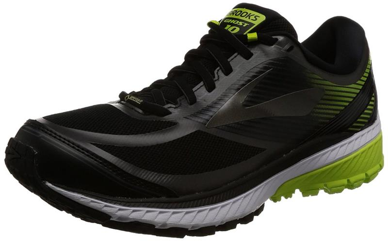 Brooks Ghost 10 GTX Laufschuh Herren black/lime *UVP 149,99