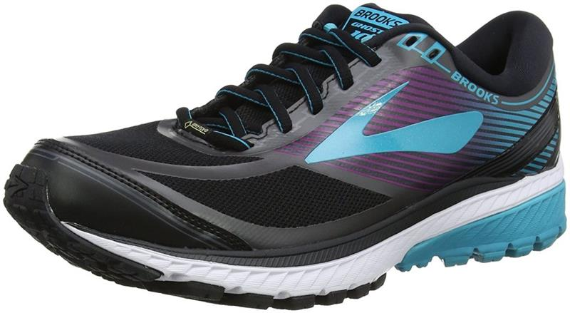 Brooks Ghost 10 GTX Laufschuh Damen black/blue *UVP 149,99
