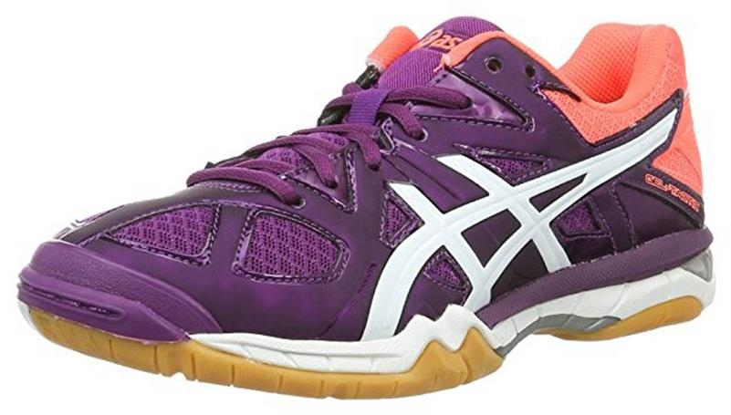 asics Gel Tactic B554N Volleyballschuh Damen phlox/white/coral *UVP 99,99