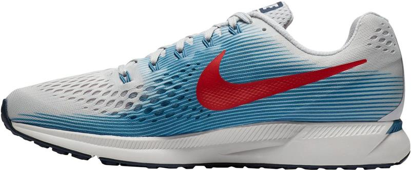 Nike Air Zoom Pegasus 34 Herren vast grey/red *UVP 119,99