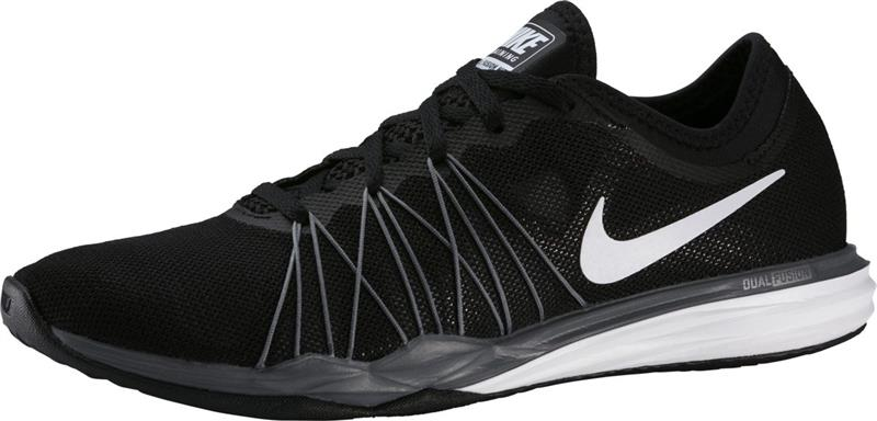 Nike Dual Fusion TR Hit Trainingsschuhe Damen black/white/grey *UVP 79,99