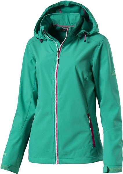 McKinley Trundle 273532 Softshelljacke Damen green aqua *UVP 89,99