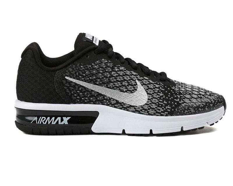 Nike Air Max Sequent 2 GS 869993 Laufschuh Kinder black/metallic *UVP 84,99