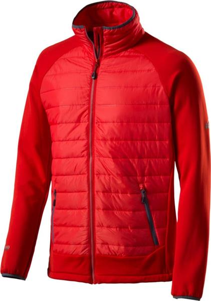 McKinley Ruby Hybrid Fleecejacke 267771 red *UVP 69,99
