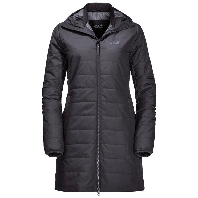 Jack Wolfskin Maryland Coat Steppmantel Damen black UVP* 179,99