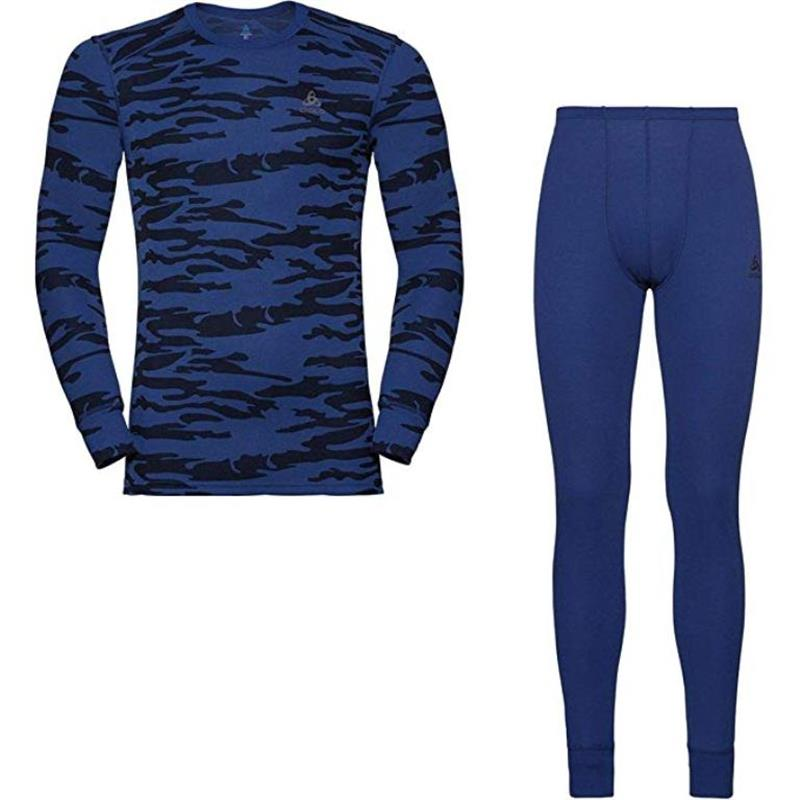 Odlo Set warm GOD JUL Herren sodalite blue 192072 UVP* 99,99