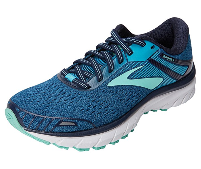 Brooks Adrenaline GTS 18 Laufschuh Damen navy/mint *UVP 139,99