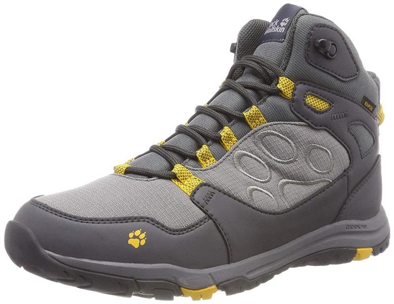 Jack Wolfskin Activate Texapore Mid M Herren burly yellow *UVP 124,99