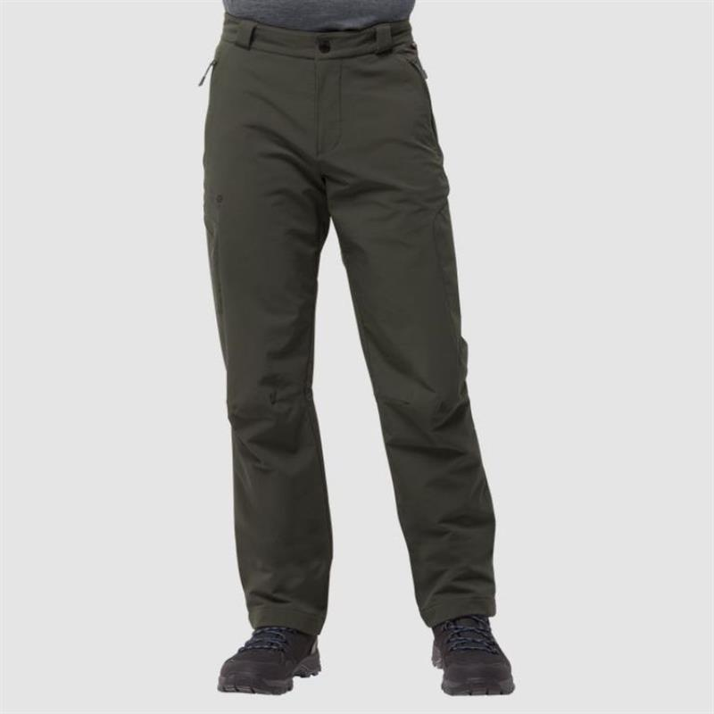 Jack Wolfskin Activate Thermic Pants Men UG Softshell-Hose malachite *UVP 119,99