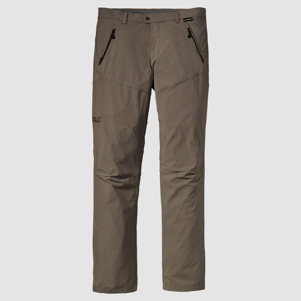 Jack Wolfskin Activate Light Pants Herren Softshell-Hose siltstone *UVP 89,99