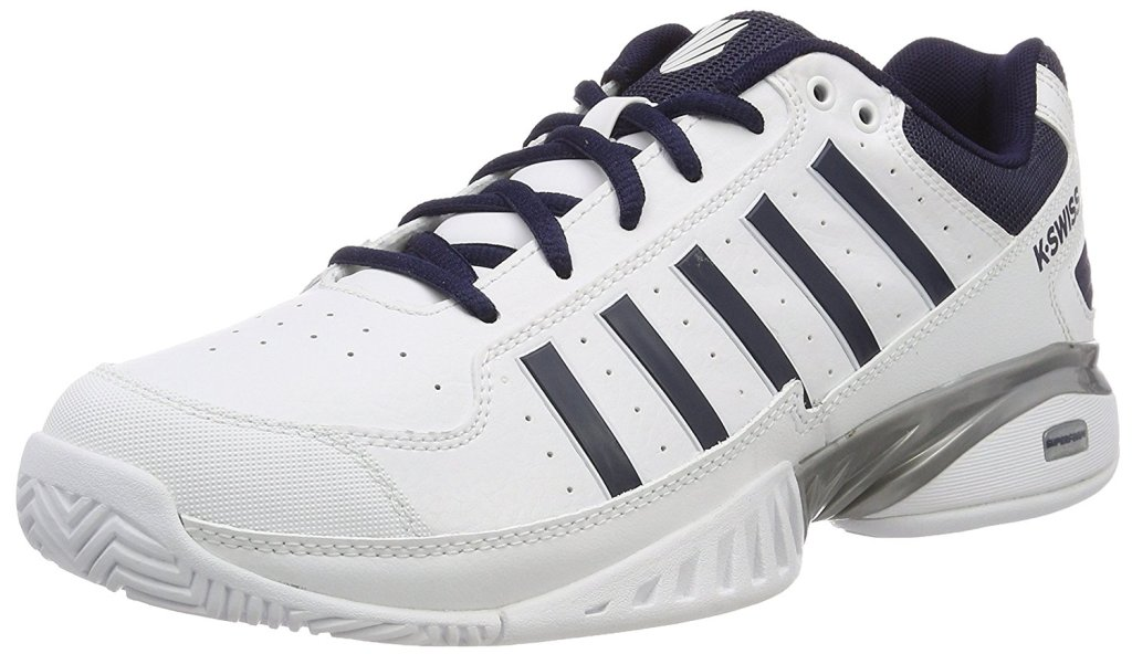 K-Swiss Receiver IV 05644 Tennisschuh Herren white/navy *UVP 99,99