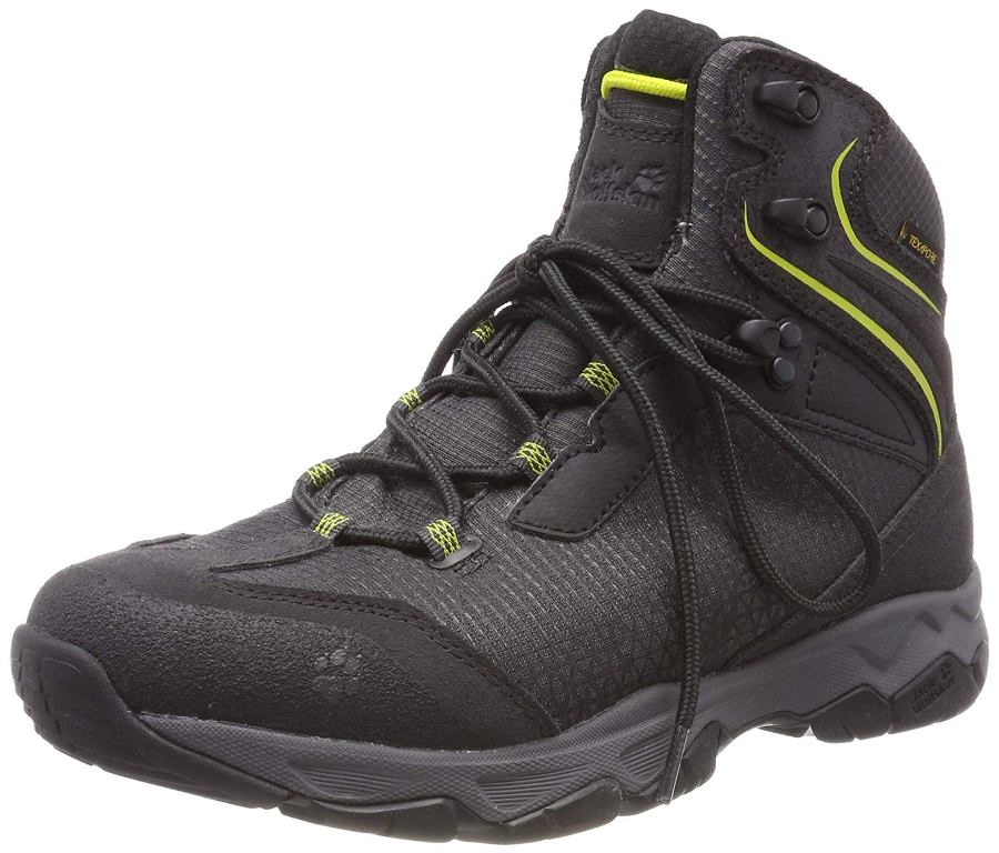 Jack Wolfskin Rock Hunter Mid Texapore Herren lime green *UVP 139,99