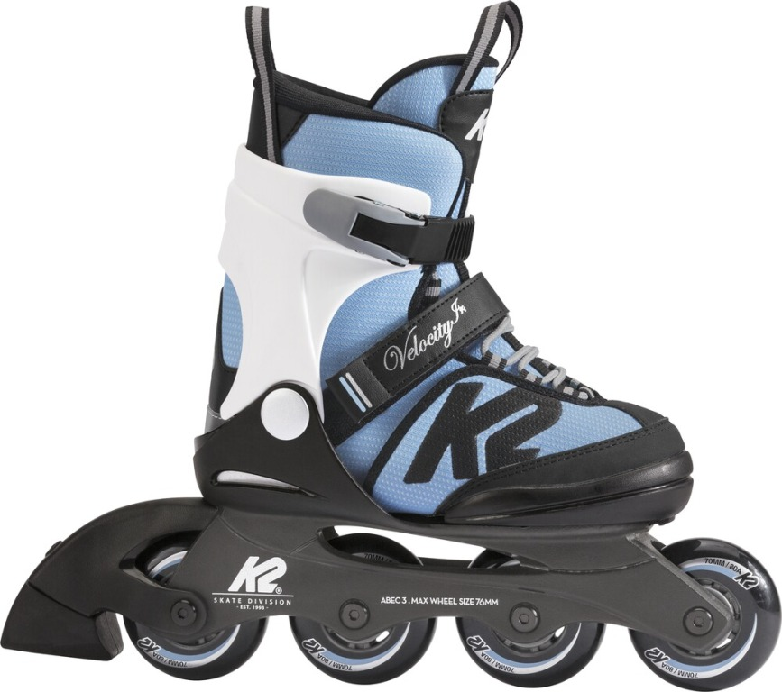K2 Velocity JR Girls Inliner Skates 30D0231-1 light blue *UVP 99,99