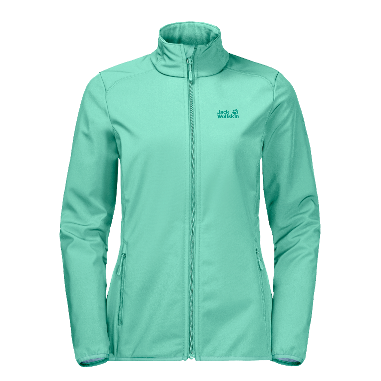 Jack Wolfskin Northern Pass Softshelljacke 1305811 Damen pale mint *UVP 99,99