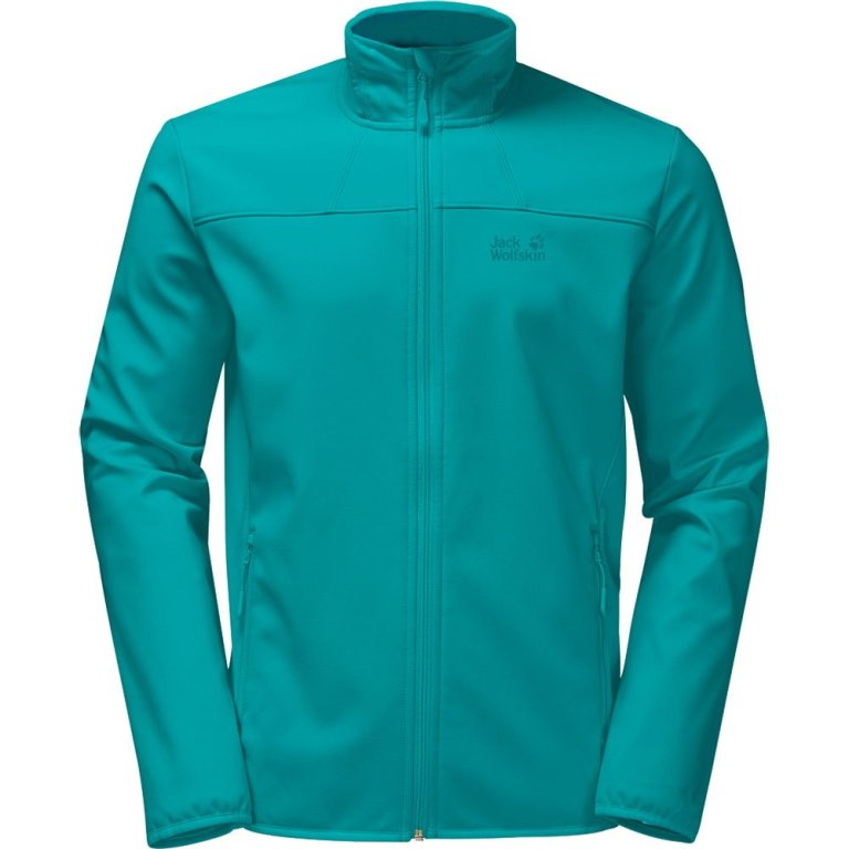 Jack Wolfskin Northern Pass Softshelljacke 1305811 Damen aquamarine *UVP 99,99