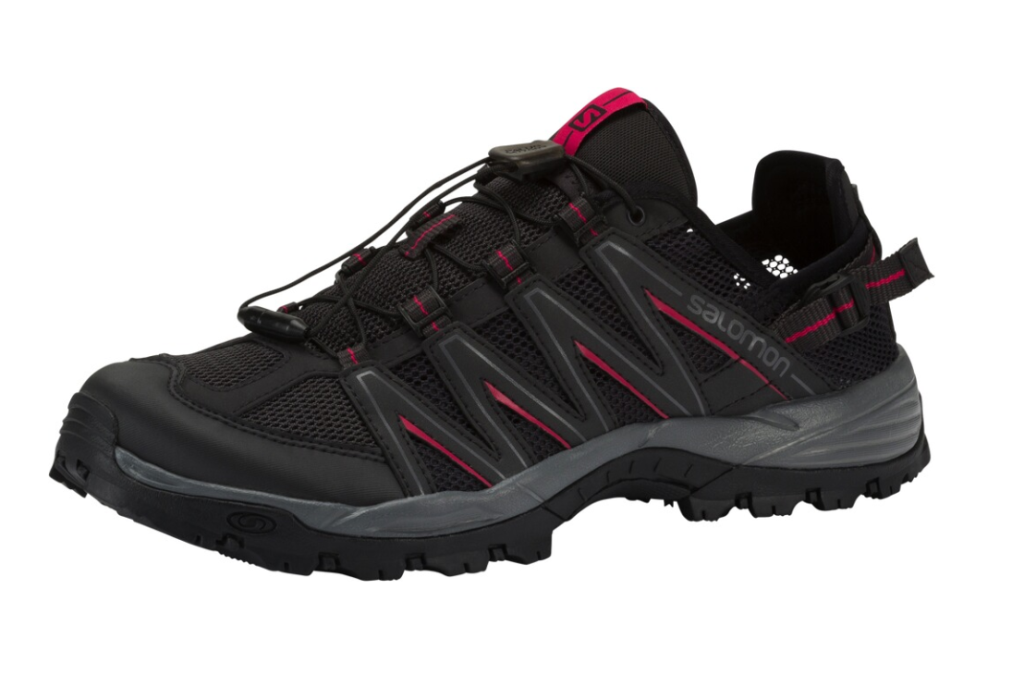 Salomon Lakewood Trekkingsschuh Damen L40492000 phantom/pink *UVP 94,99