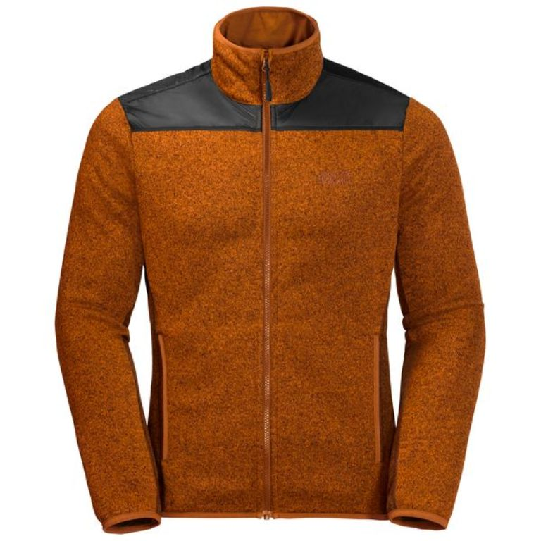 Jack Wolfskin Elk Lodge Fleecejacke Herren 1707091 desert orange *UVP 89,99