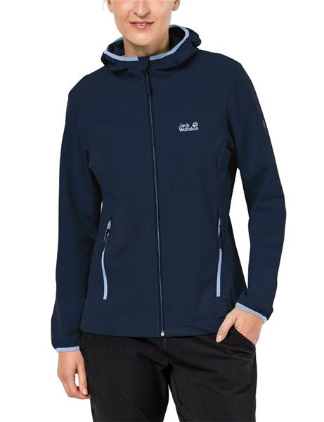 Jack Wolfskin Turbulence Softshelljacke Damen midnight blue *UVP 99,99