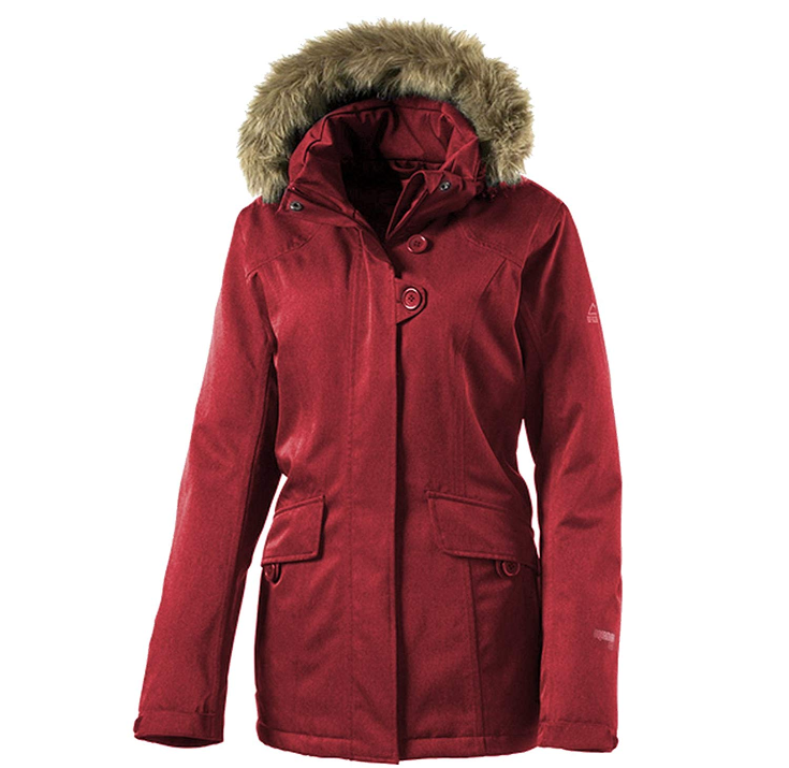 McKinley Mount Allen Funktions-Jacke Damen 4033286 red wine *UVP 129,99