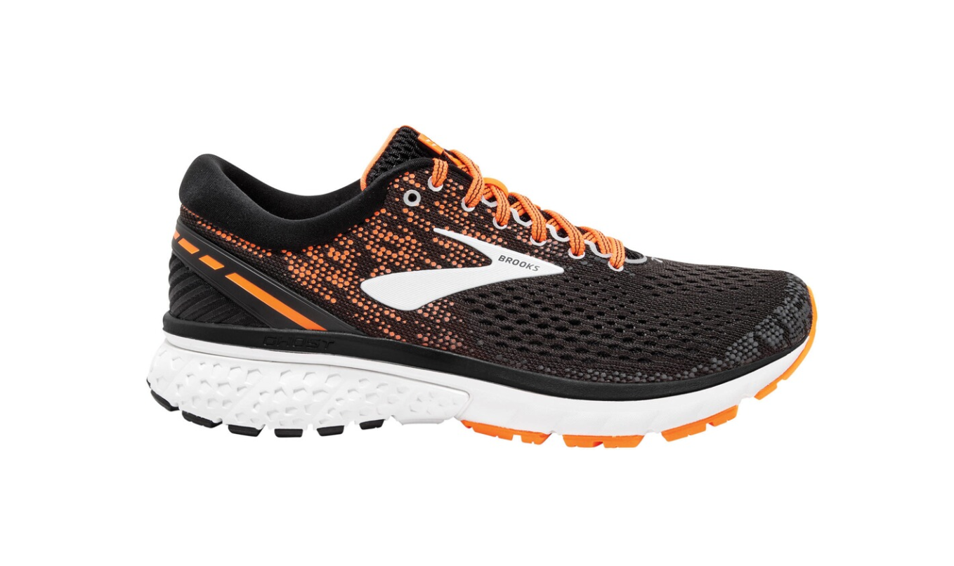 Brooks Ghost 11 Laufschuh Herren 1102881D black/silver/orange *UVP 139,99