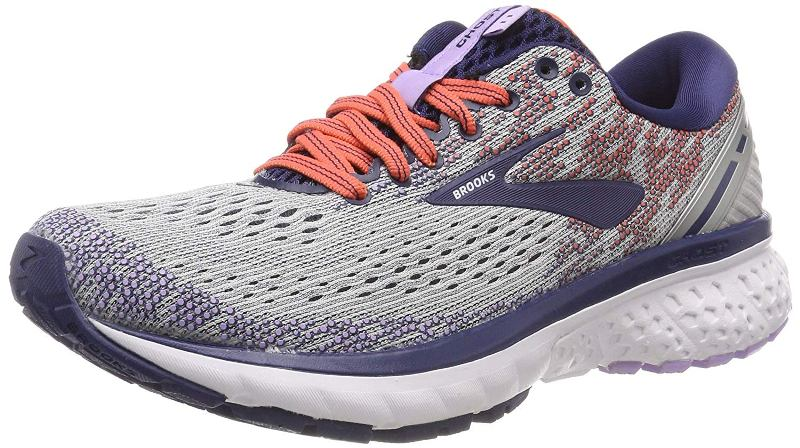 Brooks Ghost 11 Laufschuh Damen 1202771B grey/blue/coral *UVP 139,99