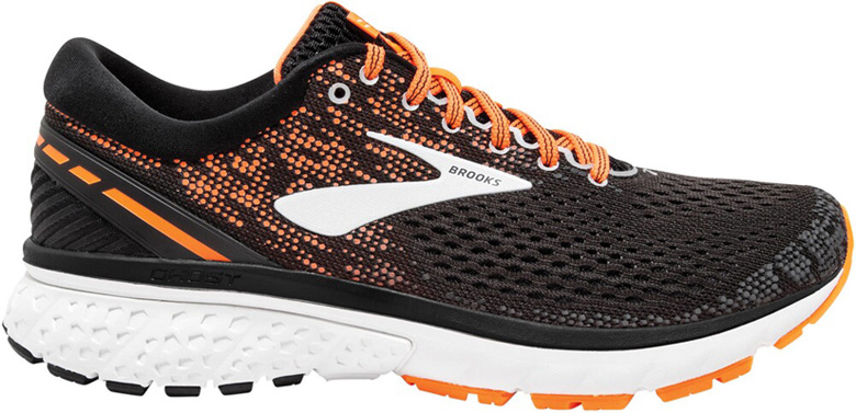 Brooks Ghost 11 Laufschuh Herren 1102881B black/silver/orange *UVP 139,99