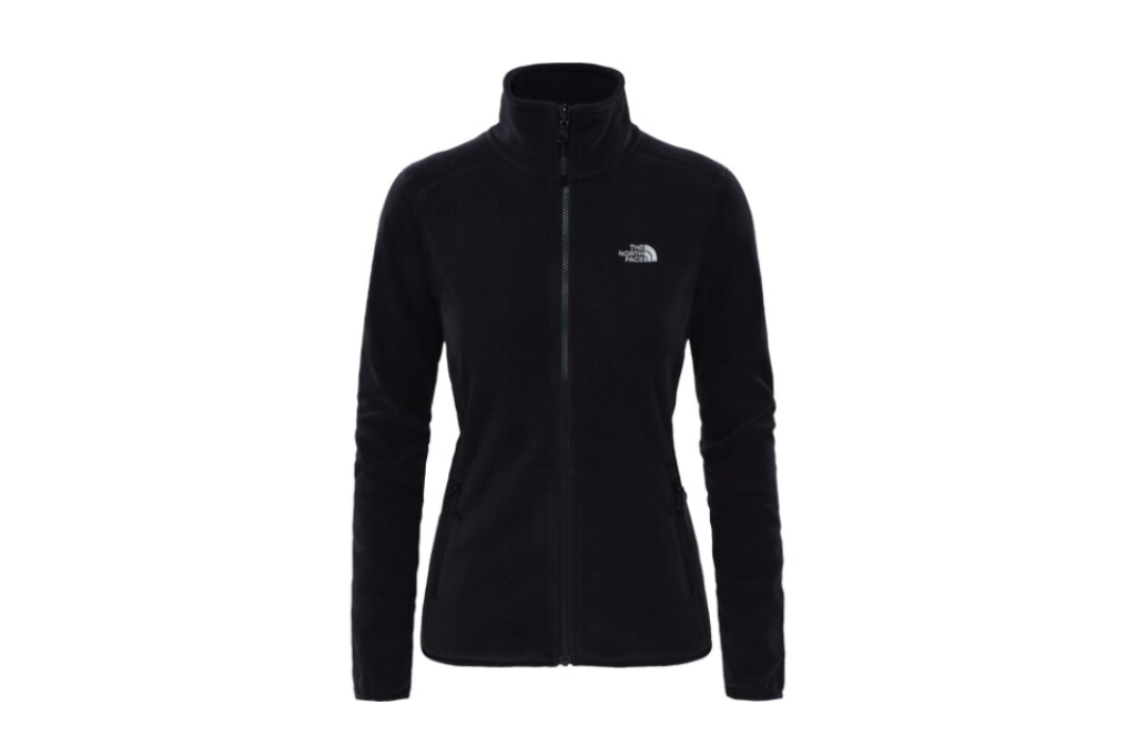 The North Face 100 Glacier Full Zip Fleecejacke Damen T92UAU black *UVP 74,99