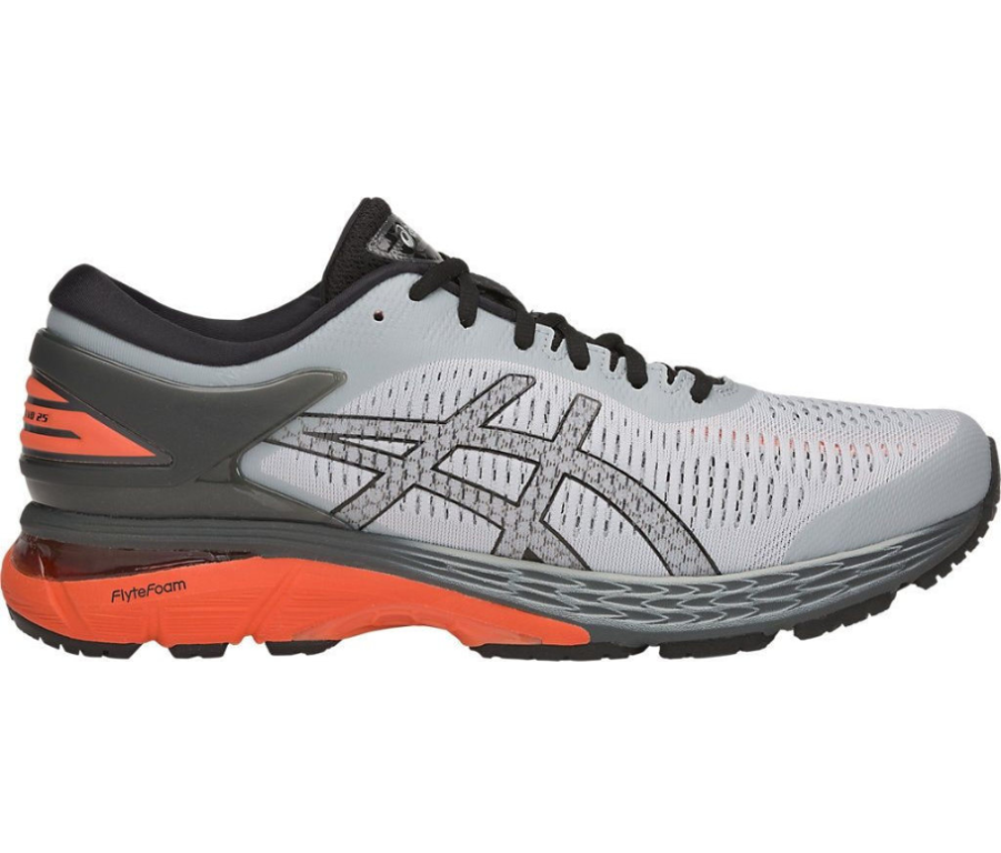 asics Gel-Kayano 25 Laufschuh Herren 1011A019 grey/orange *UVP 179,99