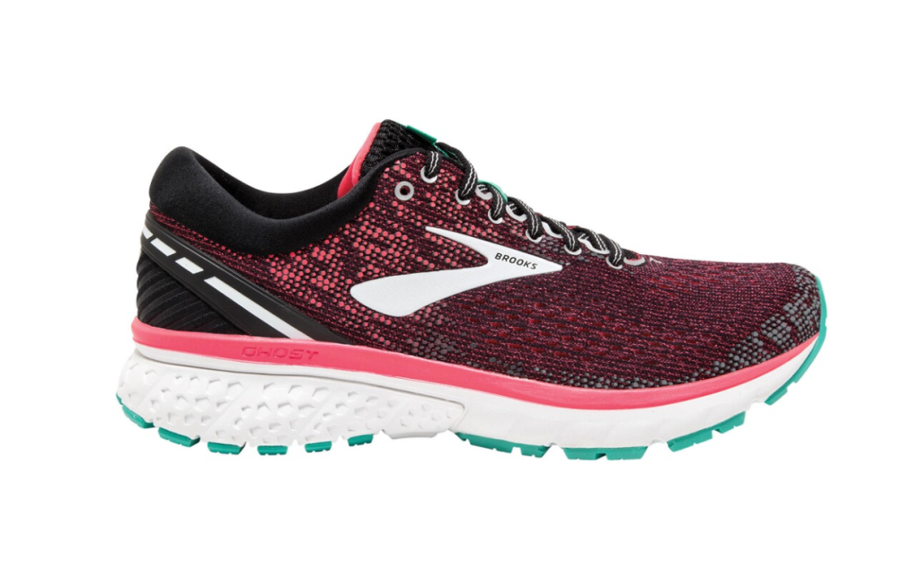 Brooks Ghost 11 Laufschuh Damen 1202771B black/pink/aqua *UVP 139,99