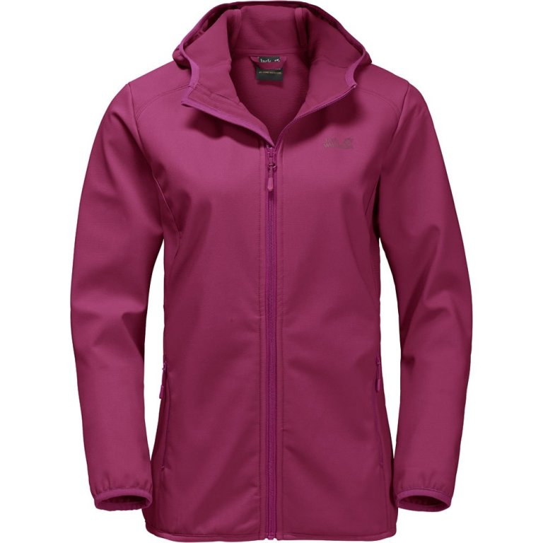 Jack Wolfskin Northern Point Softshell Jacke Damen amethyst UVP* 109,99