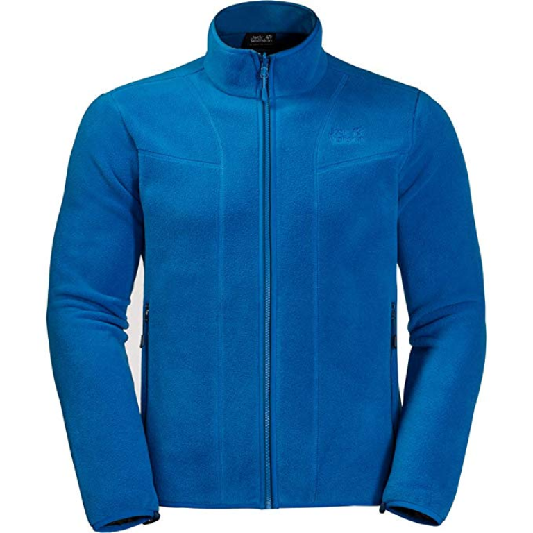 Jack Wolfskin Moonshine Track Men Fleecejacke 1706951 electric blue *UVP 89,99