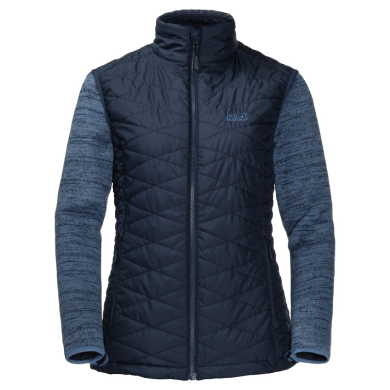 Jack Wolfskin Aquila Glen Fleecejacke Damen 1202802 midnight blue UVP* 179,99