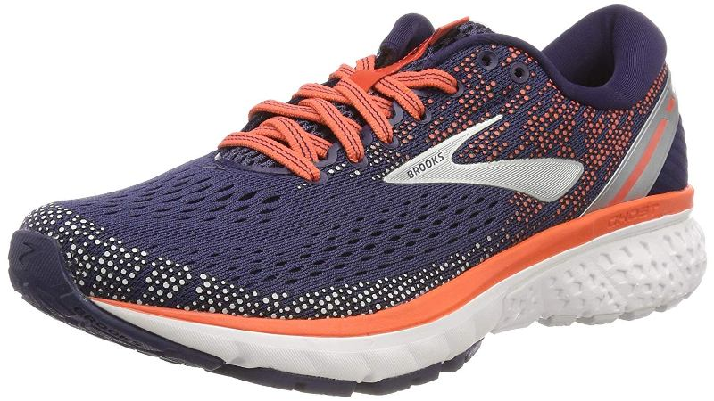 Brooks Ghost 11 Laufschuh Damen 1202771B navy/coral/grey *UVP 139,99
