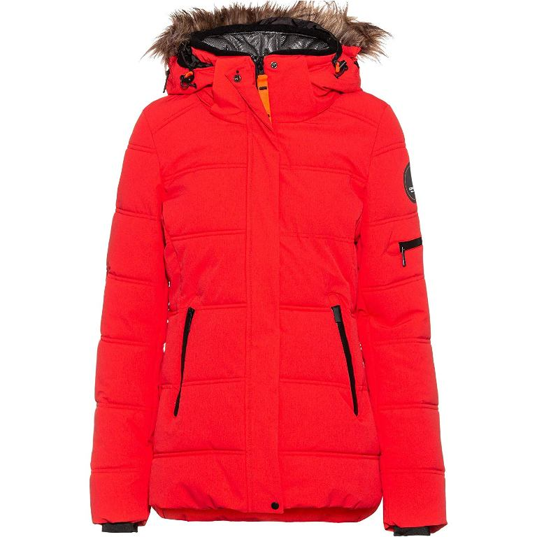 Icepeak Blackey Steppmantel Wintermantel Damen korallenrot *UVP 169,99